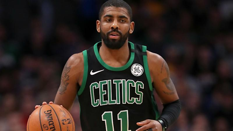 Kyrie Irving on reuniting with LeBron James in Boston: 'We'll see what management decides'