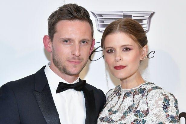 Kate Mara said learning she and Jamie Bell were pregnant a second time was tempered by having had a miscarriage.