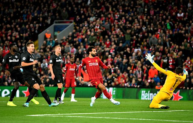 Salah's finish proved to be the winner
