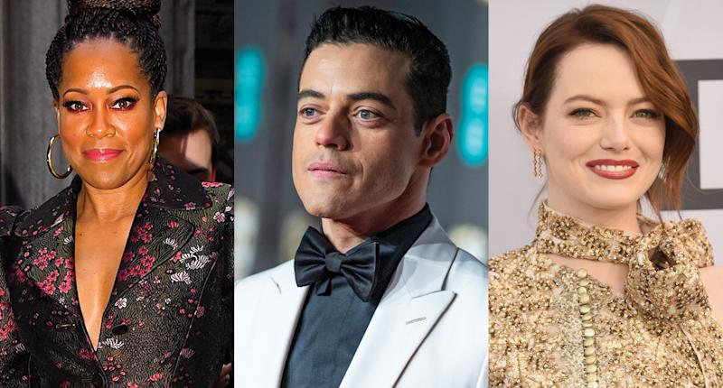 Regina King, Rami Malek and Emma Stone's Oscar week has been filled with luxurious gifts. (Photo: Getty Images)