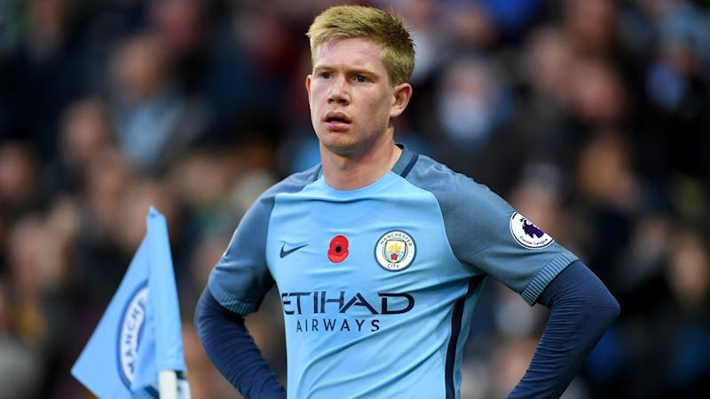 De Bruyne: Man City suffering 'growing pains' under Guardiola