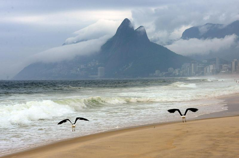 """Rio de Janeiro has declared Abrico beach, an hour's drive from the city center, a nudist beach in """"a courageous decision by the mayor,"""" says a nudist activist"""