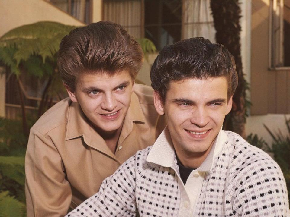 The Everly Brothers circa 1960  (Getty)