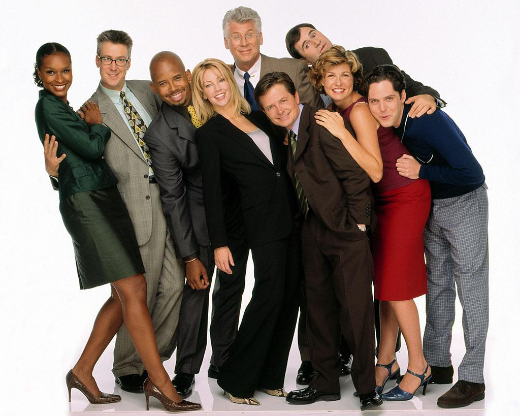 SPIN CITY- Gallery shot: Aug.1,1999. This season Mike and Nikki's ever-evolving relationship changes and Mike must deal with his new nemesis, Caitlin Moore (Heather Locklear), the mayor's new campaign manager. 