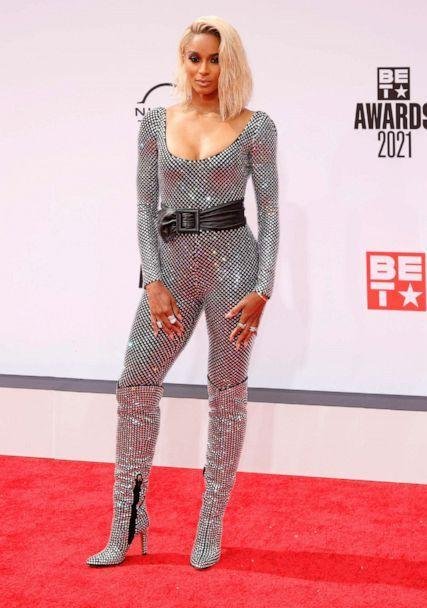 PHOTO:  Ciara attends the BET Awards 2021 at Microsoft Theater on June 27, 2021 in Los Angeles. (Amy Sussman/FilmMagic via Getty Images)