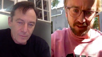 """<p>Actors Tom Felton and Jason Isaacs enjoyed a 'family' reunion over the weekend in support of the British Red Cross. In the Harry Potter film franchise, Isaacs played wizard Lucius Malfoy while Felton played his son and Potter's nemesis son Draco. </p><p>On Friday, Isaacs shared a <a href=""""https://www.instagram.com/tv/B-QW6rFgEP_/?utm_source=ig_embed"""" rel=""""nofollow noopener"""" target=""""_blank"""" data-ylk=""""slk:video"""" class=""""link rapid-noclick-resp"""">video</a> of his conversation with Felton on his Instagram account with the caption: 'Malfoy Family Reunion. Sharing lockdown life. Draco and Lucius connect as part of @BritishRedCross #PowerOfKindness #PhoneAFriend. Try it. #HarryPotter #StayHomeSaveLives @t22Felton #TomFelton.'</p><p>During the clip, the 32-year-old star filmed himself from his Californian home that he lives in with his dog Willow.</p><p>The star joked that he was on a 'diet' of Kit-Kats and salt and vinegar chips during self-isolation, while Isaacs said that he has subscribed to 'every single streaming service' since adhering to government advice to stay indoors. </p><p>They both also revealed that they were obsessed with the new Netflix documentary Tiger King, with Felton admitting that he had met the show' star Joe Exotic two years ago.</p><p><a class=""""link rapid-noclick-resp"""" href=""""https://www.instagram.com/tv/B-QW6rFgEP_/"""" rel=""""nofollow noopener"""" target=""""_blank"""" data-ylk=""""slk:WATCH THE REUNION"""">WATCH THE REUNION</a></p>"""
