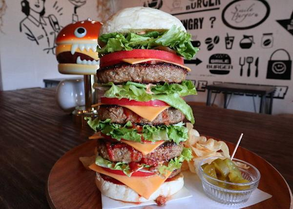 Smile Burger quatro 3,300 yen (including tax)