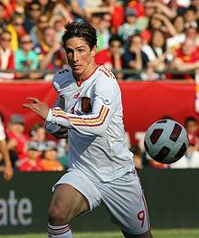 Spain had the match well in hand by the time Fernando Torres hit his second-half goal