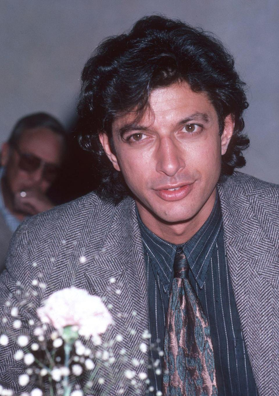 "<p>Goldblum's film debut was in 1974's <em>Death Wish</em>, in which he played ""Freak #1""</p>"