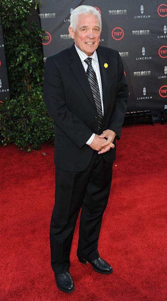 """G.W. Bailey attends the special fan screening of TNT's """"The Closer"""" series finale held at The Roosevelt Hotel on August 7, 2012 in Hollywood, California."""