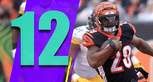 <p>No way around it: That was a crushing loss to the Steelers. And now the Bengals go on the road to face a very good Chiefs team. That's a tough turnaround. (Joe Mixon) </p>