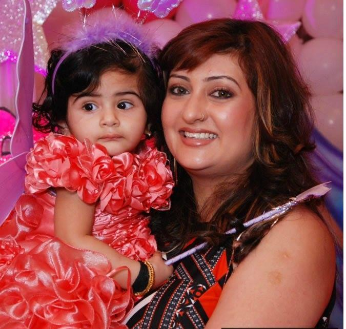 <p>The four year old is clearly her mamma's princes as seen in the pic here. To us, she is a photocopy of her gorgeous mother, what do you say? We know our favorite Kumkum is going through some hard times in her life, but we are glad this pretty little angle is there to bring all the smiles that Juhi needs in these trying times. </p>