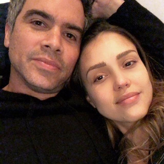 """<p>At home chilling on the couch with her husband, there wasn't a makeup brush in sight, but Jessica's complexion is still flawless.</p><p><a href=""""https://www.instagram.com/p/BfShiqUhBj4/?igshid=bpcl9wbq5un1"""" rel=""""nofollow noopener"""" target=""""_blank"""" data-ylk=""""slk:See the original post on Instagram"""" class=""""link rapid-noclick-resp"""">See the original post on Instagram</a></p>"""