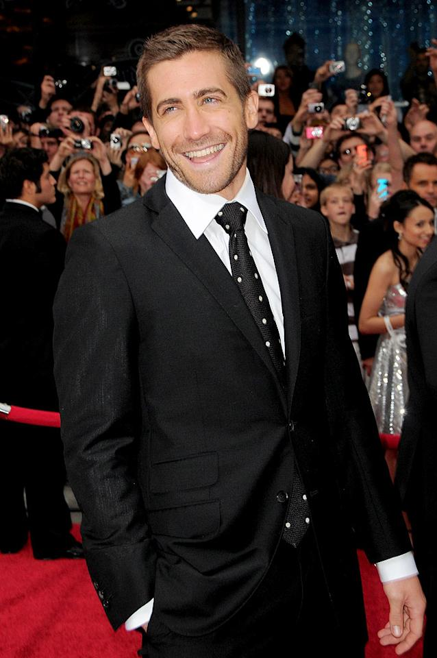 """Perez Hilton reports that when Jake Gyllenhaal was in London recently to promote his new movie """"Love and Other Drugs,"""" """"he started to get this feeling, this lonely feeling,"""" and wanted Taylor Swift to be with him immediately. According to Perez, Gyllenhaal quickly threw down $150,000 to """"charter a private plane and get her booty"""" over to England for """"some 'quality time' together."""" For dish from a Swift insider about this over-the-top booty call, log on to <a href=""""http://www.gossipcop.com/jake-gyllenhaal-taylor-swift-private-plane-jet-london/"""" target=""""new"""">Gossip Cop</a>. Jordan Strauss/<a href=""""http://www.wireimage.com"""" target=""""new"""">WireImage.com</a> - May 17, 2010"""