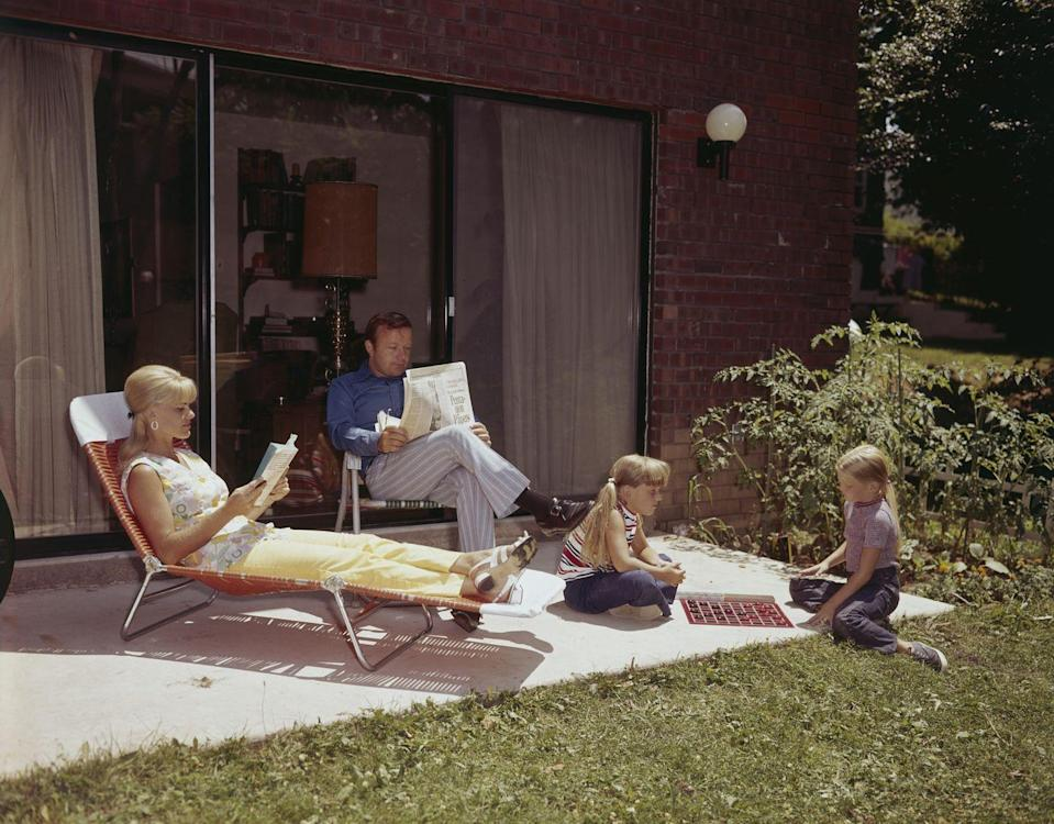 <p>There was a certain look to patios in the 70s that has never been replicated. A slab of concrete, a couple of flimsy plastic chaise lounge chairs, maybe a hibachi, and families would call it good—right after mom slathered up with baby oil, that is.</p>