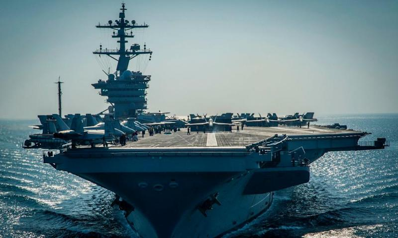 The USS Vinson.
