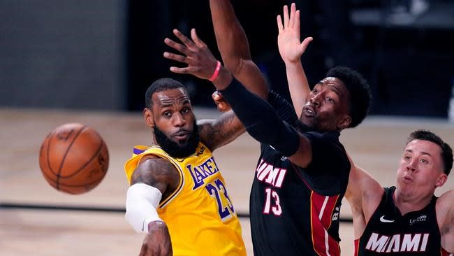 Adebayo back in Heat lineup for Game 4; Dragic still out