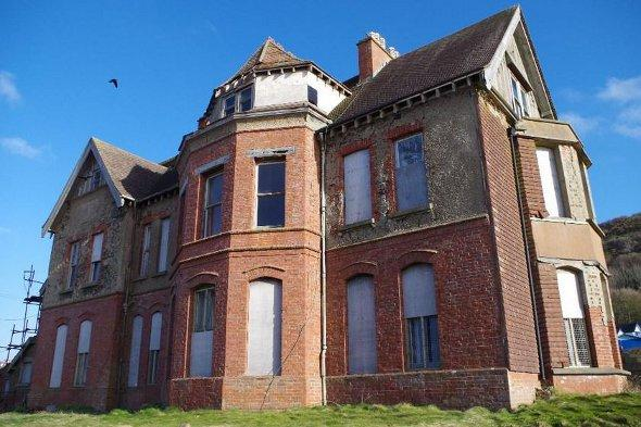 Seafield House from the rear.
