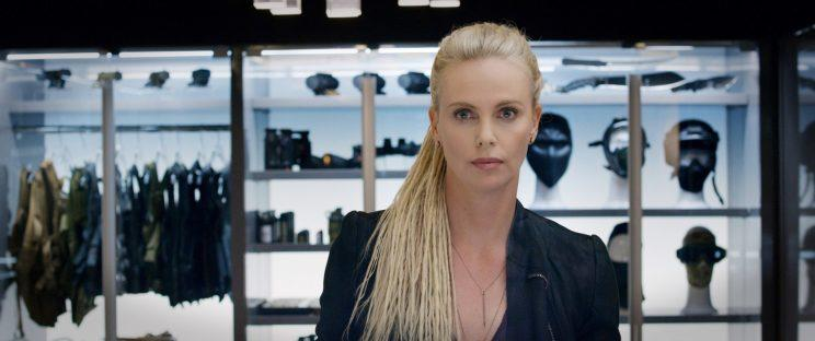 Charlize Theron as Cipher in 'The Fate of the Furious' (Photo: Universal Pictures)