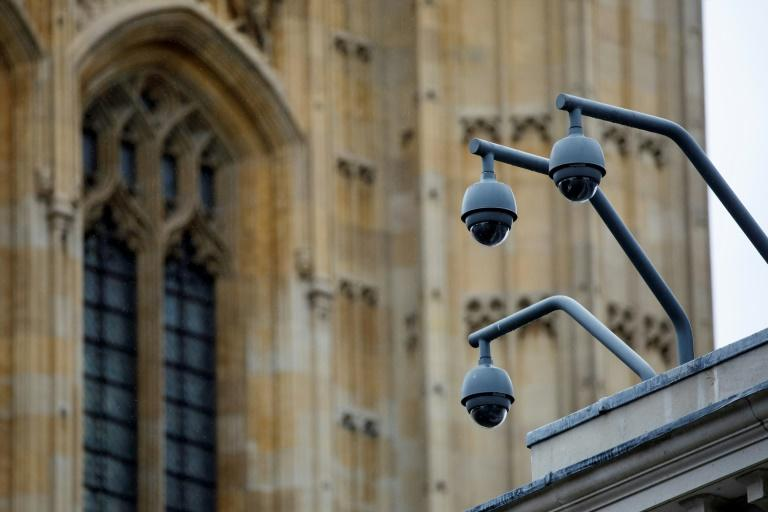 London has 420,000 surveillance cameras, according to a 2017 study by the Brookings Institution think-tank (AFP Photo/Tolga AKMEN)