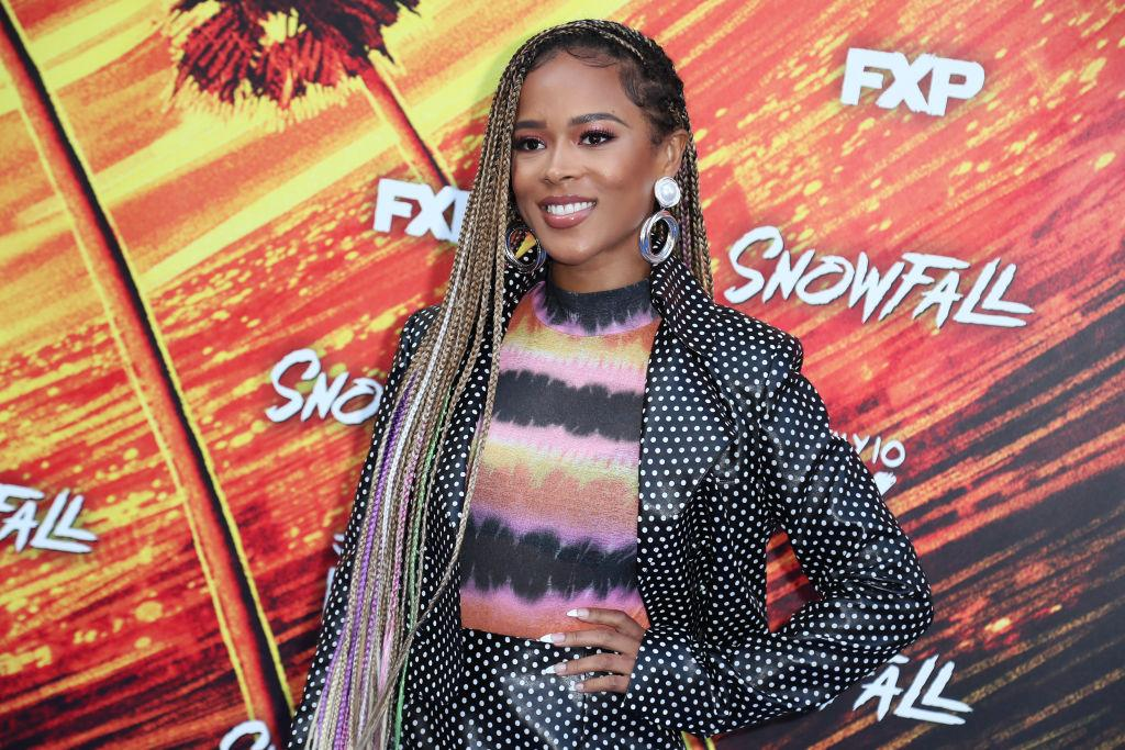 Serayah responds to the Jussie Smollett scandal. (Photo: Leon Bennett/WireImage)