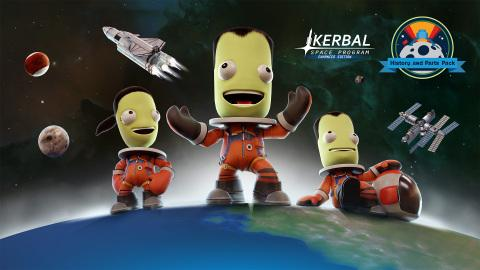 History and Parts Pack Now Available for Kerbal Space