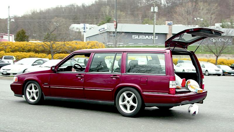 Comedians in Cars Getting Coffee: Jerry Seinfeld, David Letterman and Paul Newman's 1995 Volvo 960 Station Wagon