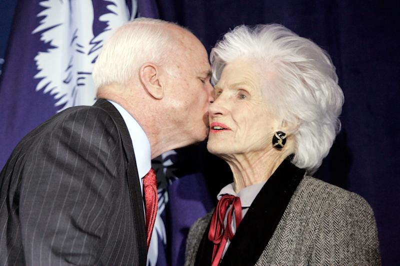 John McCain's Mother — 106 and 'Spunky' — Knows Her Son is Gravely Ill, Says Friend