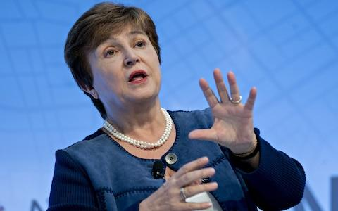 IMF managing director Kristalina Georgieva - Credit: Andrew Harrer/ Bloomberg
