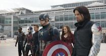 """<p>If your favorite thing about the MCU is seeing the match-ups between different superheroes and their powers, this movie — about the rift that forms between Captain America and Iron Man after the events of <em>Avengers: Age of Ultron</em> — features one of the best, all-out superhero fights in the whole series. </p><p><a class=""""link rapid-noclick-resp"""" href=""""https://www.amazon.com/Captain-America-Civil-War-Theatrical/dp/B01EXR226A?tag=syn-yahoo-20&ascsubtag=%5Bartid%7C10055.g.29023076%5Bsrc%7Cyahoo-us"""" rel=""""nofollow noopener"""" target=""""_blank"""" data-ylk=""""slk:AMAZON"""">AMAZON</a> <a class=""""link rapid-noclick-resp"""" href=""""https://go.redirectingat.com?id=74968X1596630&url=https%3A%2F%2Fwww.disneyplus.com%2Fmovies%2Fmarvel-studios-captain-america-civil-war%2F4ovfyKnnIBCg&sref=https%3A%2F%2Fwww.goodhousekeeping.com%2Flife%2Fentertainment%2Fg29023076%2Fmarvel-movies-mcu-in-order%2F"""" rel=""""nofollow noopener"""" target=""""_blank"""" data-ylk=""""slk:DISNEY+"""">DISNEY+</a></p>"""