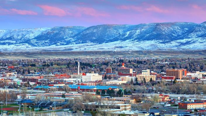 Casper is a city in and the county seat of Natrona County, Wyoming, United States.