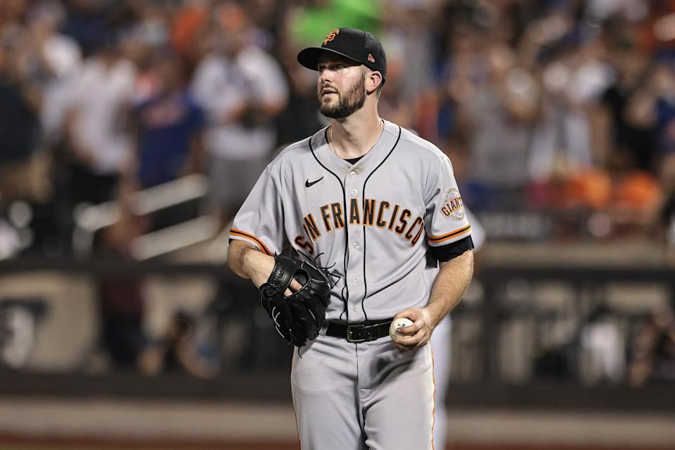 San Francisco Giants starting pitcher Alex Wood has tested positive for COVID-19.