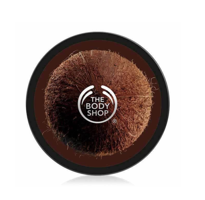 Coconut Oil Body Butter. Image via The Body Shop.