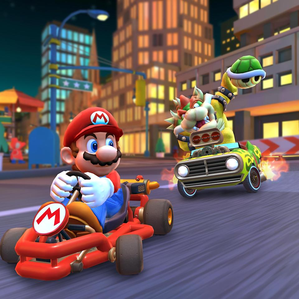 Let's-A Race! Mario Kart Tour Is Now Available for Smartphone Devices