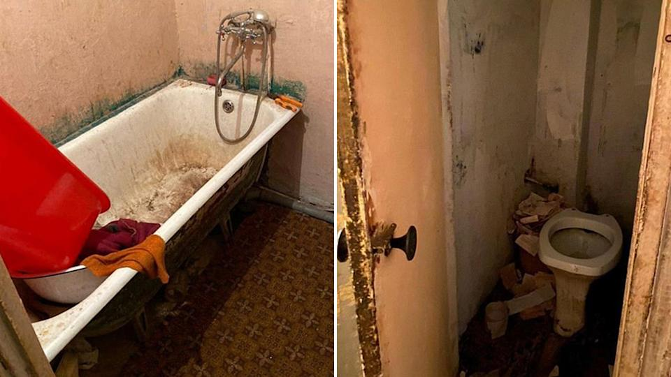 photos of the filthy apartment from the Police of Ukraine