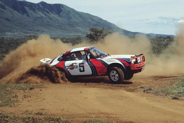 Will Porsche Design A New 911 Safari Rally Car