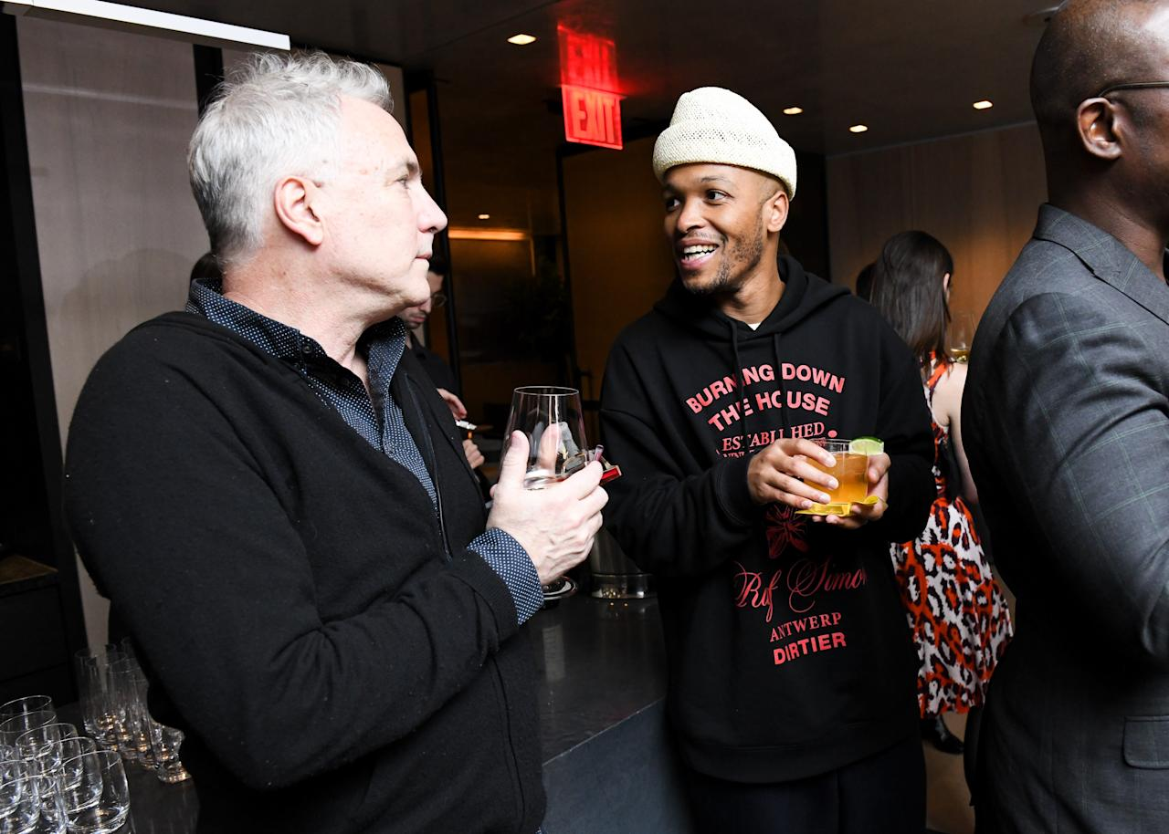 Antwaun Sargent at the Equinox Hotel Pre-Basel Dinner Party on November 20, 2019 in Miami Beach.