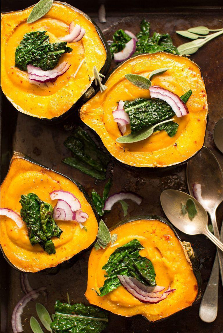 "<p>Why use a bowl when you can enjoy your soup right out of an acorn squash? Not only is it tastier, but there's less cleanup too!</p><p><strong>Get the recipe at the <a href=""https://minimalistbaker.com/creamy-fall-soup-in-acorn-squash-bowls/"" rel=""nofollow noopener"" target=""_blank"" data-ylk=""slk:Minimalist Baker"" class=""link rapid-noclick-resp"">Minimalist Baker</a>.</strong></p><p><a class=""link rapid-noclick-resp"" href=""https://www.amazon.com/Cook-Home-02418-Stainless-Stockpot/dp/B00Z4TSE32/?tag=syn-yahoo-20&ascsubtag=%5Bartid%7C10050.g.3569%5Bsrc%7Cyahoo-us"" rel=""nofollow noopener"" target=""_blank"" data-ylk=""slk:SHOP LARGE POTS"">SHOP LARGE POTS</a></p>"