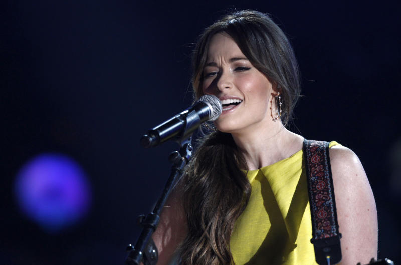 Kacey Musgraves performs at the 47th annual CMA Awards at Bridgestone Arena on Wednesday, Nov. 6, 2013, in Nashville, Tenn. (Photo by Wade Payne/Invision/AP)