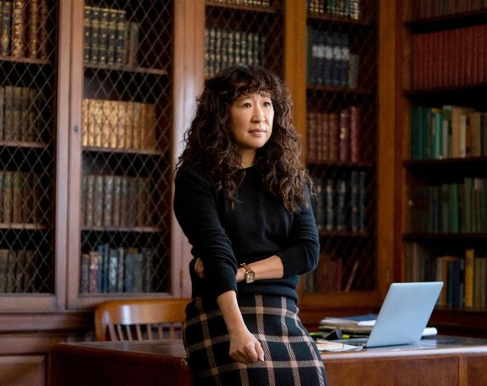 Sandra Oh in 'The Chair' - Credit: Eliza Morse / ©Netflix / Courtesy Everett Collection.