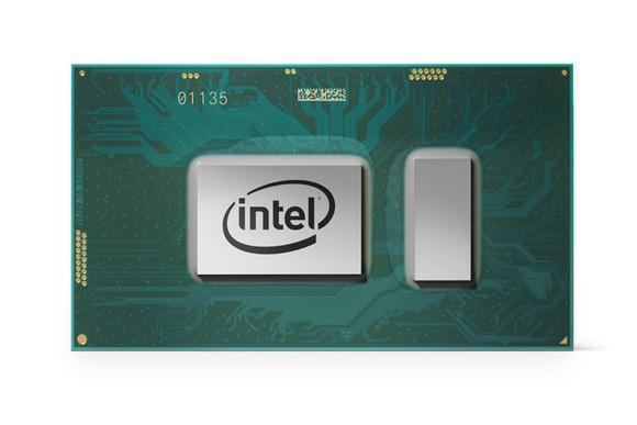 An Intel 8th generation Core processor.