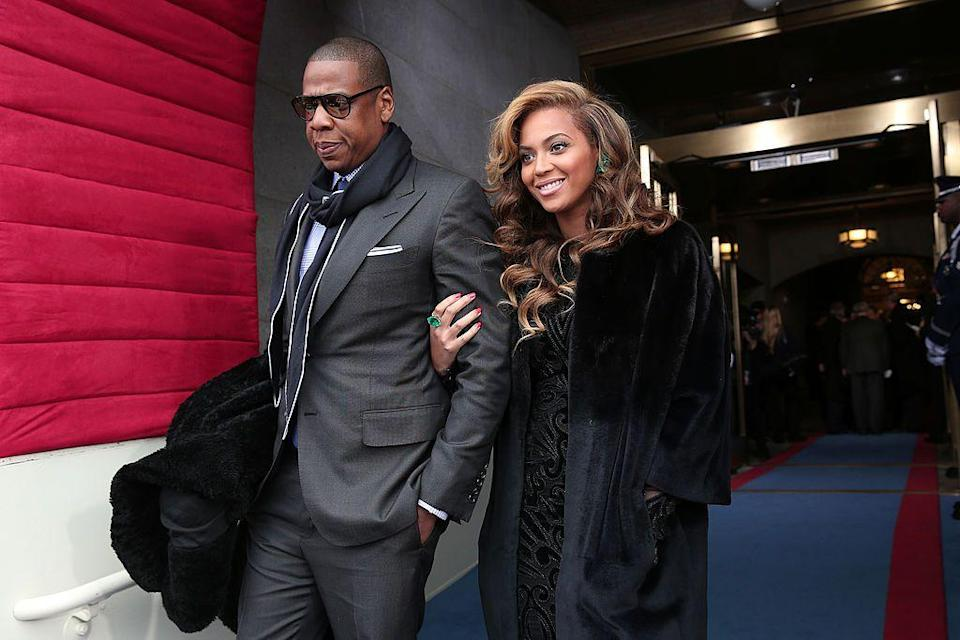 <p>Beyoncé performed the National Anthem at President Barack Obama's inauguration for his second presidential term.</p>