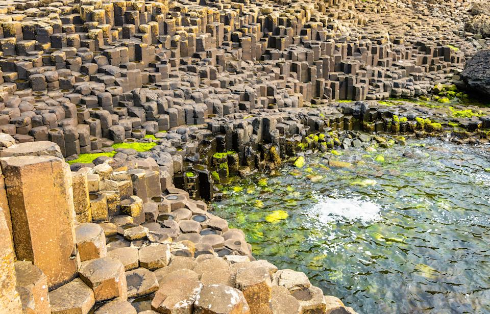 The Giant's Causeway seashore has to be seen to be believed (Getty Images)