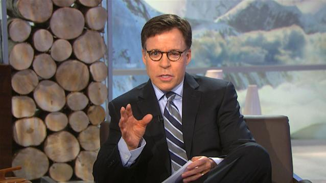Bob Costas missed a week at the 2014 Sochi Games thanks to pink eye.