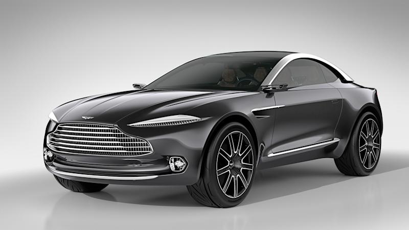 Aston Martin Dbx Suv Could Get Six Cylinder Amg Engine
