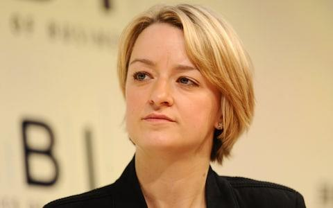 Laura Kuenssberg appeared briefly in the show - Credit: PA