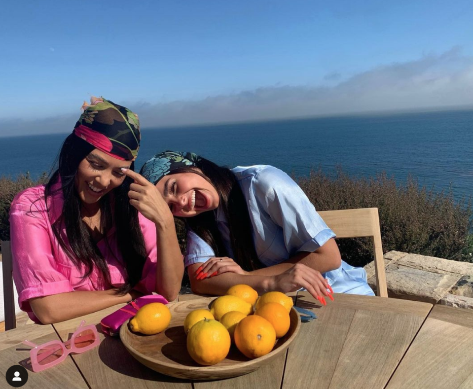 """<p>Not even Kourtney can avoid an afternoon craving. The reality star's go-to afternoon snack varies from <a href=""""https://www.foodnetwork.com/healthyeats/diets/2018/kourtney-kardashian-diet"""" rel=""""nofollow noopener"""" target=""""_blank"""" data-ylk=""""slk:avocado hummus and fresh veggies"""" class=""""link rapid-noclick-resp"""">avocado hummus and fresh veggies</a> to raw almonds to fresh fruit.</p>"""