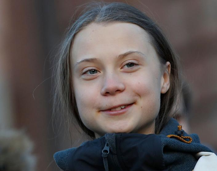 Greta Thunberg has had a salt truck named after her in Manchester, England. (Photo: ASSOCIATED PRESS)