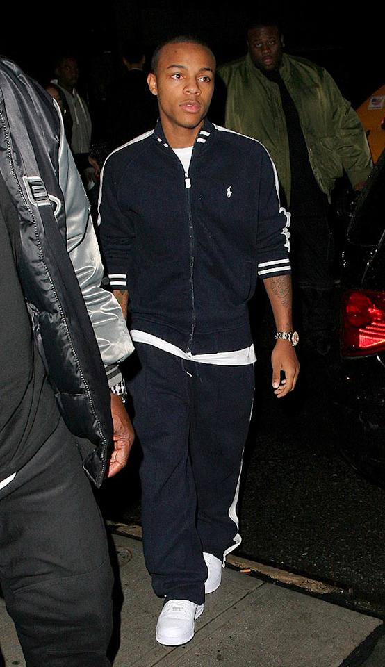 "Even though he's only 20 years old, Bow Wow is granted entry into NYC's club Butter. Perez/Abbot/<a href=""http://www.infdaily.com"" target=""new"">INFDaily.com</a> - November 3, 2007"