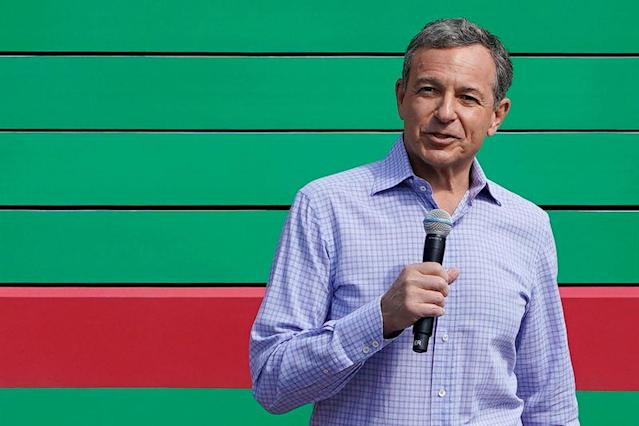 Disney CEO Bob Iger at the opening of Toy Story Land at Shanghai Disneyland in China, April 26, 2018. (REUTERS/Aly Song)